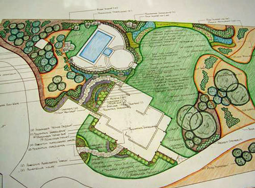 Many professional ... - Cut From Similar Cloth: Discussion With A Landscape Architect